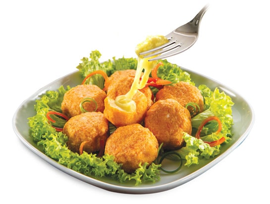 Salmon Ball with Cheese