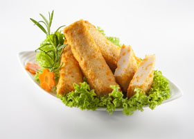 Fish Cake with Cheese